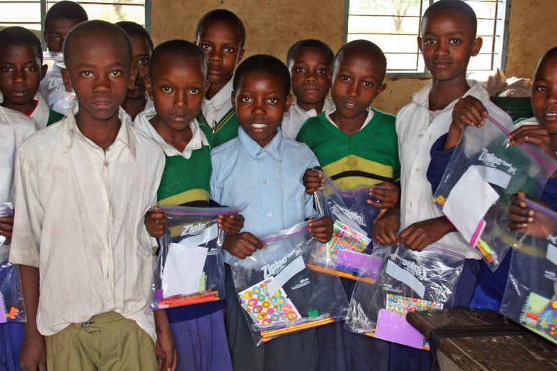 given to every child at Nkwamakuu school
