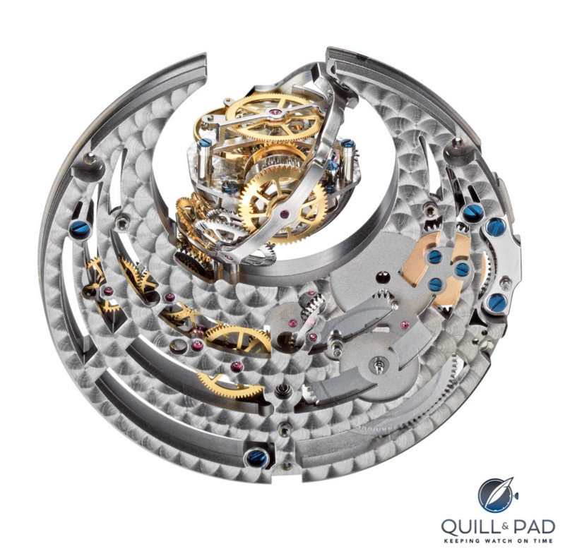 The Zero G gravity module from the movement of the Zenith Academy Christoph Colomb