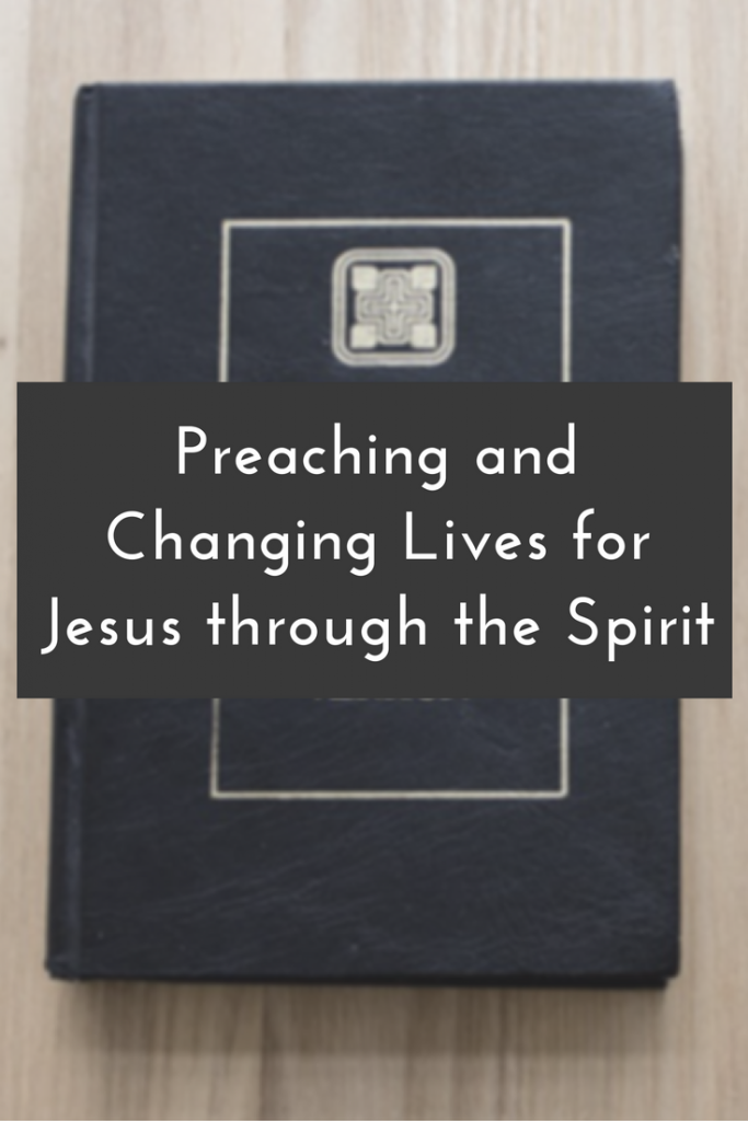 Blog Post | Preaching is more than reciting a scripted sermon. It should be birthed by prayer and demonstrate the Kingdom of God with a targeted goal.