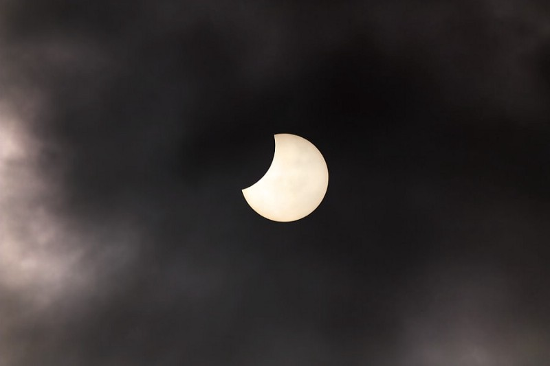 Photograph Partial Solar Eclipse by Stephen Emerson on 500px