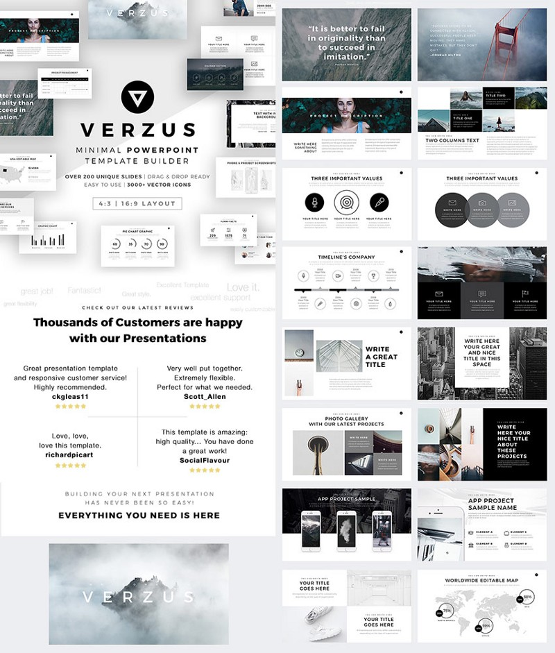 20 Best Powerpoint Templates 2019 Pixelhand