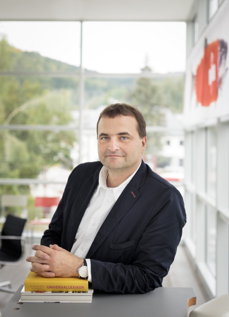 Uwe Ahrendt, managing director and part owner of Nomos Glashütte