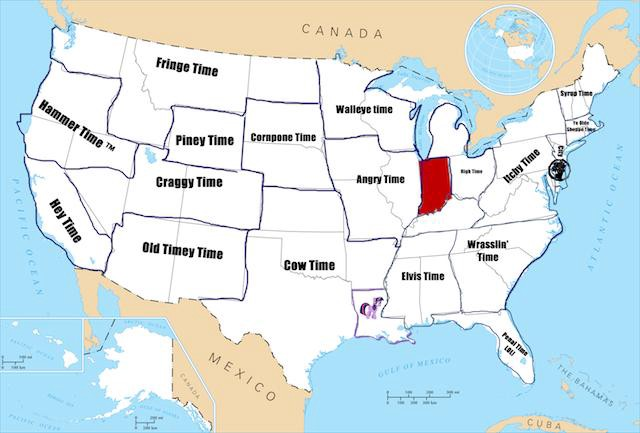 Why These States Don't Do Daylight Saving Time | Time