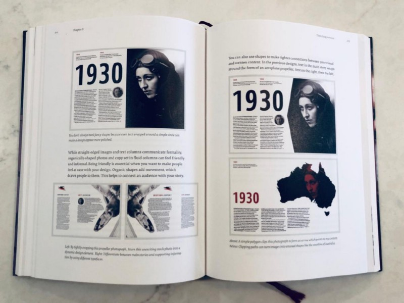 Art direction for the web book review