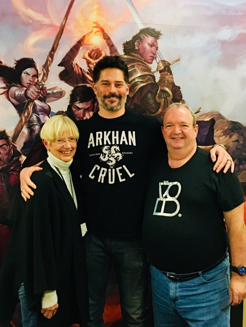 Margaret Weis, Joe Manganiello e Tracy Hickman