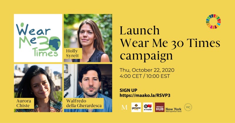 WearMe30Times: It's Time To Start Changing The Way We Think About Our Clothes