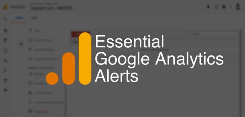 How to set up five money-saving website alerts with Google Analytics