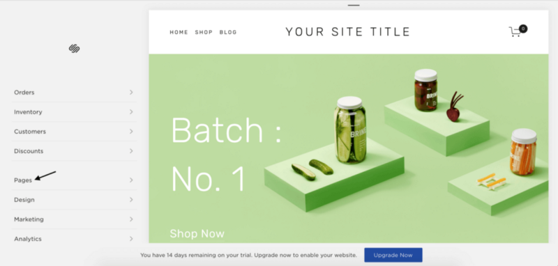 Squarespace: The pricey option