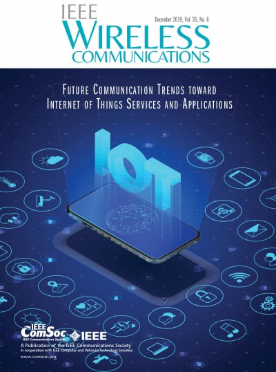 IEEE -Wireless-Communications-Journal-Cover-Image