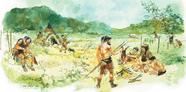 compare and contrast paleolithic and neolithic age