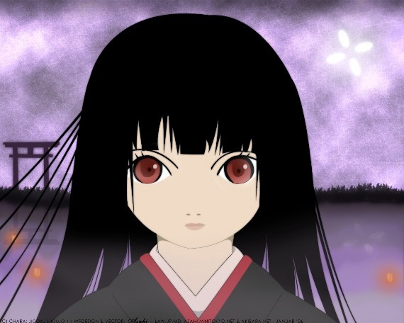 Looking lady! hell girl episode needs