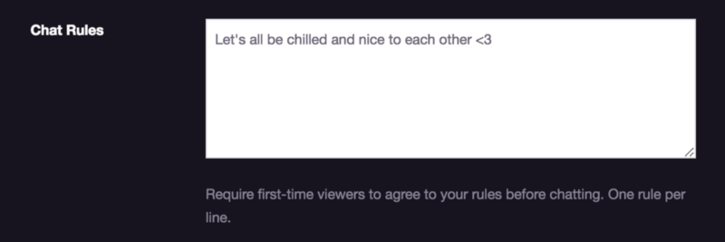Twitch Chat Rules — What You Need To Know - The Emergence