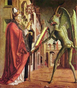 A demon makes a contract with a Catholic Bishop