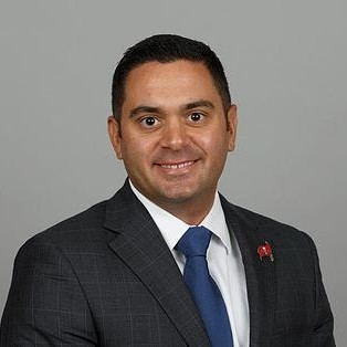 Deno Anagnost,Director of Sales for the Tampa Bay Buccaneers.