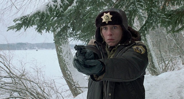 Police chief Marge Gunderson from the movie
