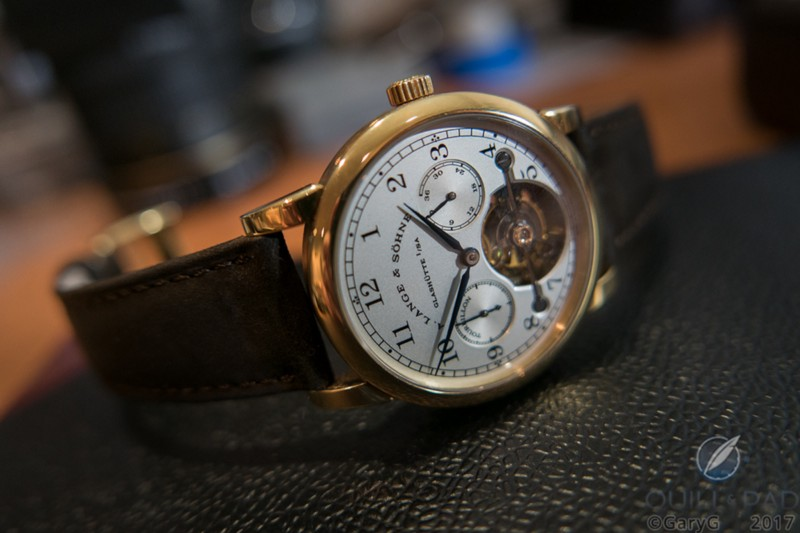 Begging to be worn: A. Lange & Söhne Pour le Mérite Tourbillon