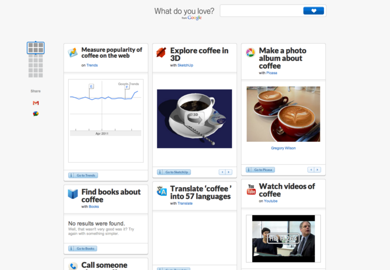 Coffee Search on WDLY