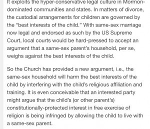 Excerpt from Why Mormons Targeted Children