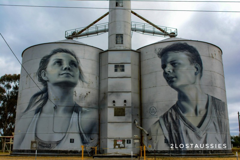 rupanyup silo art trail
