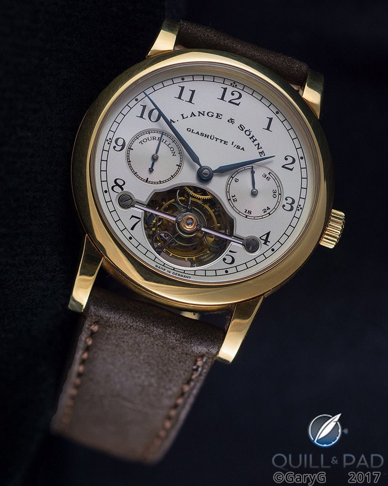 A. Lange & Söhne Pour le Mérite Tourbillon in yellow gold