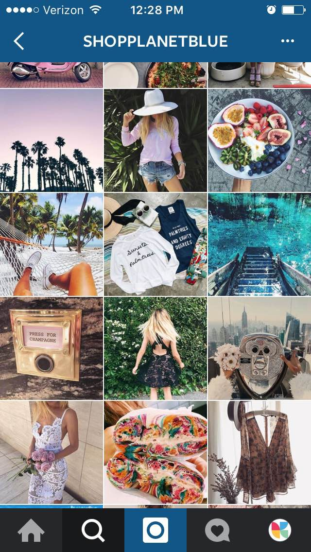 how to optimize your Instagram account - shopplanetblue