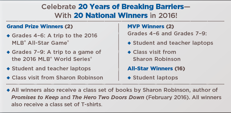 breaking barriers essay contest winners 2017 breaking barriers essay contest deadline: march 14 breaking barriers contest scholastic inc days of date of notification or an alternate winner may be.