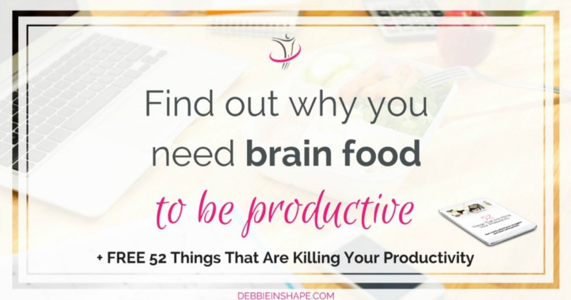 Brain food is the fuel your body needs to be productive. Discover how to get the most out of your meals for focus and efficiency. Learn more on the blog!