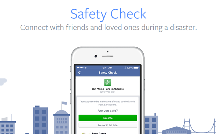 Purpose Marketing safety check facebook