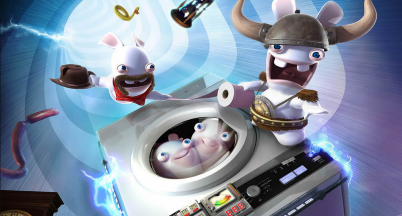 Pokemons in a washing machine