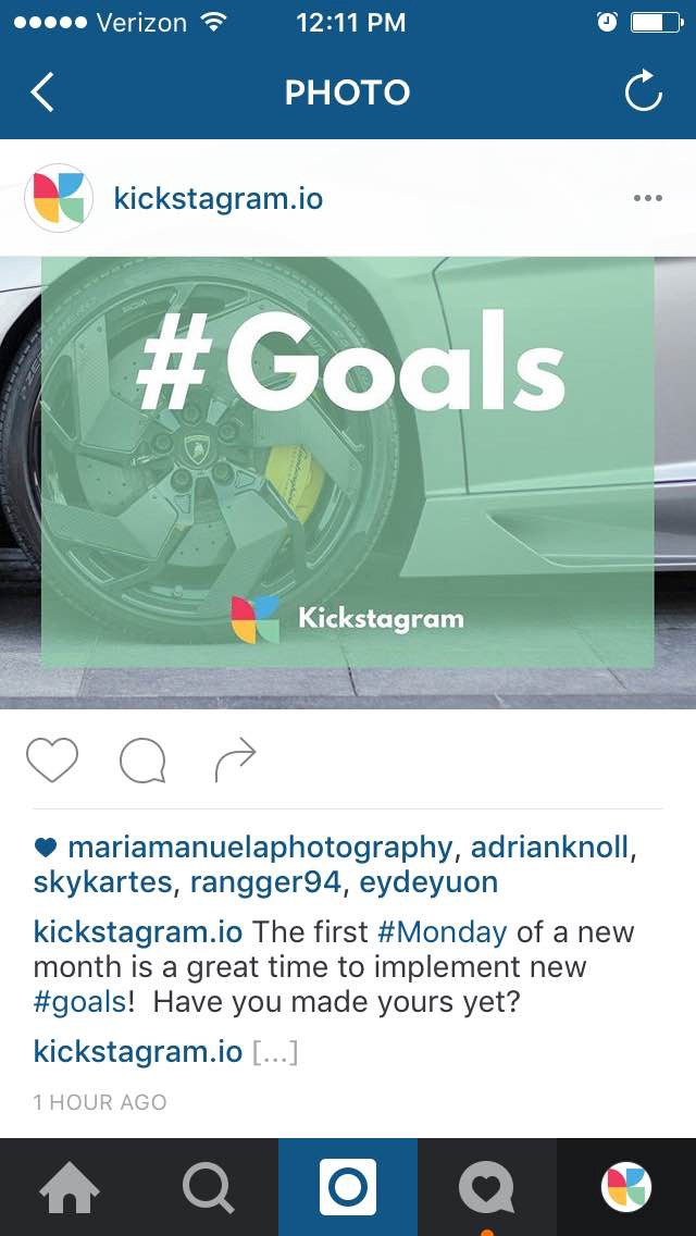 how to optimize your Instagram account - kickstagram.io