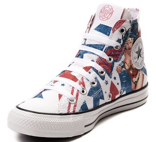 336c437b85c2 Shoe of the Day  Converse All Star Hi Wonder Woman Sneakers