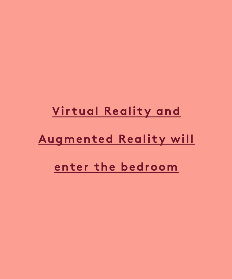 vr and ar will enter the bedroom