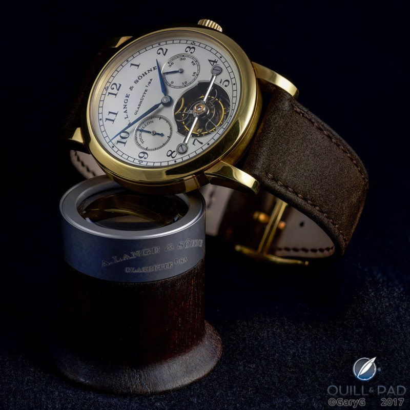 The author's A. Lange & Söhne Pour le Mérite Tourbillon