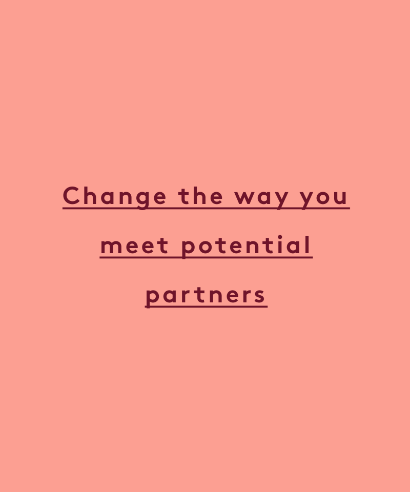 change the way you meet potential partners