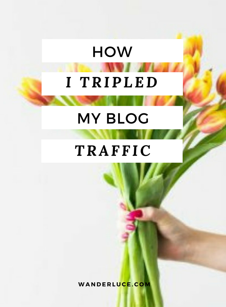 Lucy shares the top five things she did that helped to really grow her blog. From Instagram, to e-courses she shares the best things you can do FOR FREE!