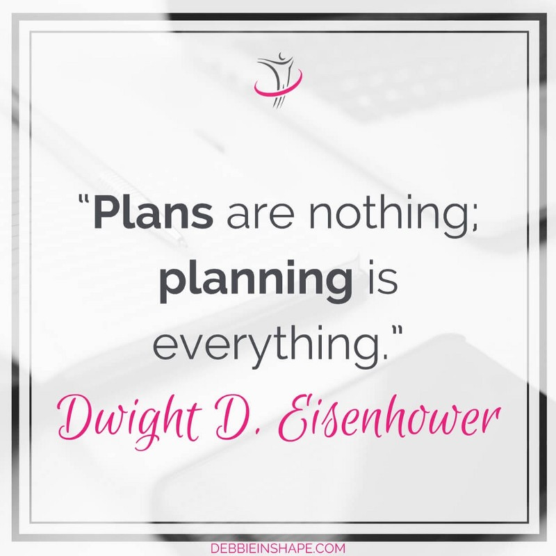 """Plans are nothing; planning is everything."" - Dwight D. Eisenhower"