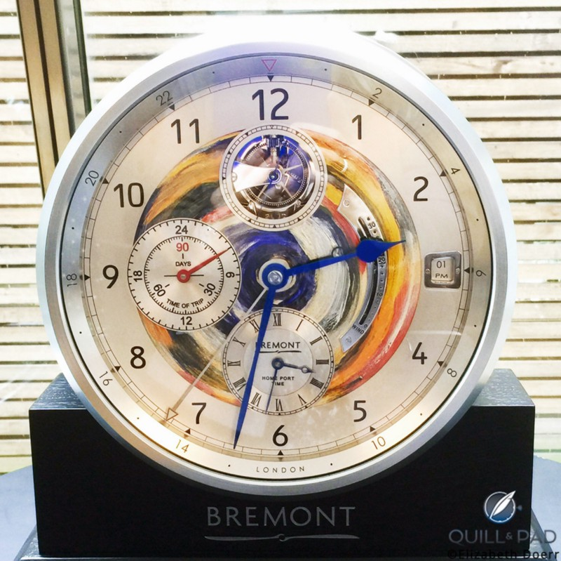 """I Feel Like Painting"" by Ronnie Wood for Bremont"