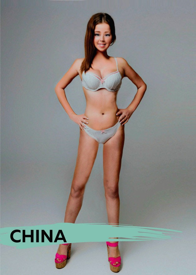 Asian women body type