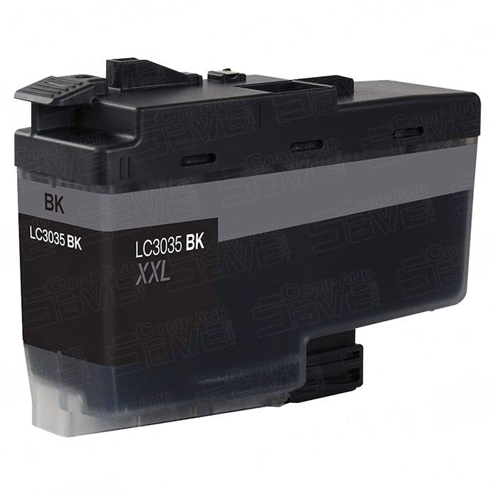 Generic, Compatible, Third-Party Brother LC3035 Black ink