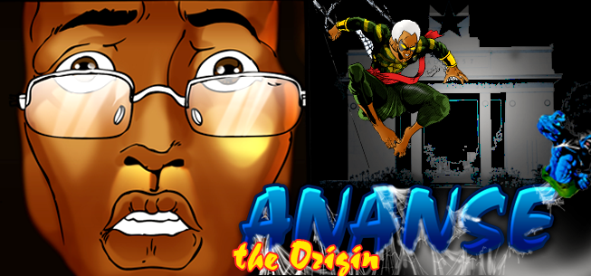 """Screenshot from """"Anansi - The Origin"""" game by Leti Arts a group of African developers"""