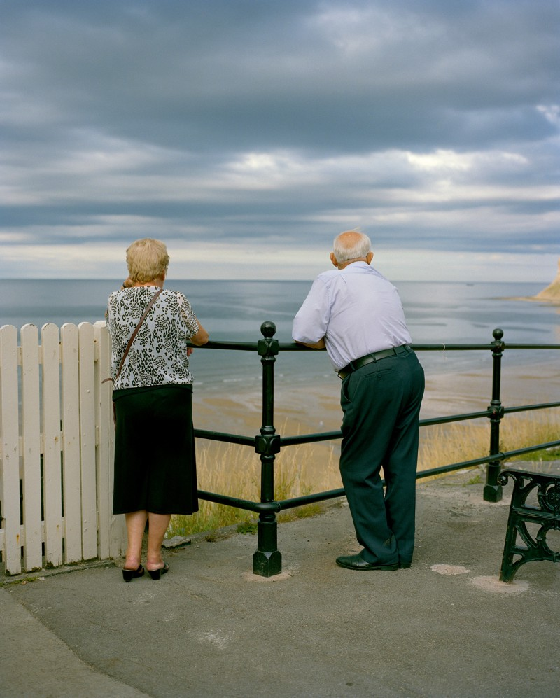 Couple, Saltburn-By-The-Sea, Teeside - August 2015