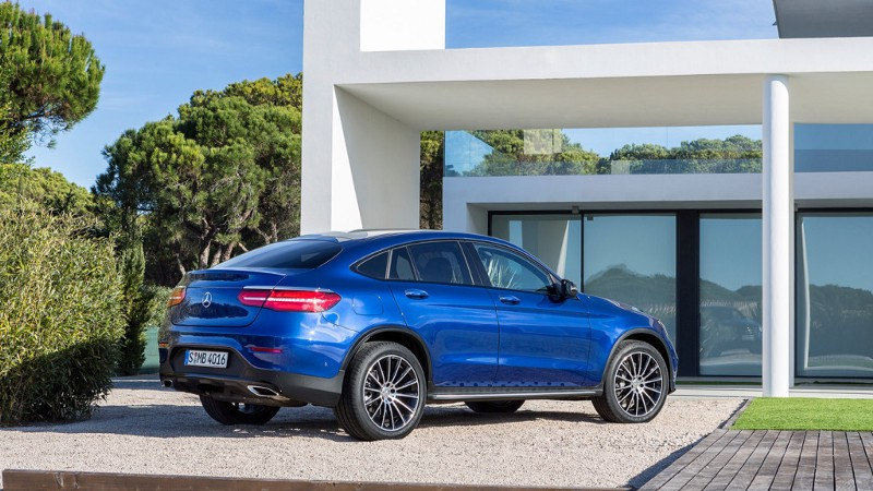 xe Mercedes GLC Coupe 2017