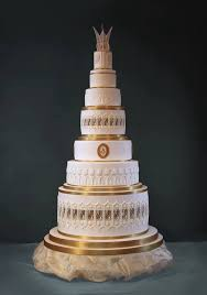 Image of an Attractive Cake for Deepawali Fest