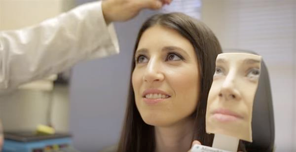 MirrorMe3D 3D printing cosmetic surgery