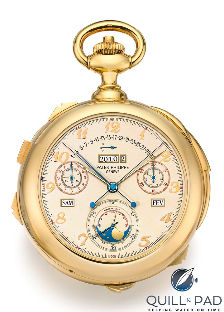 Patek Philippe Calibre 89 in yellow gold