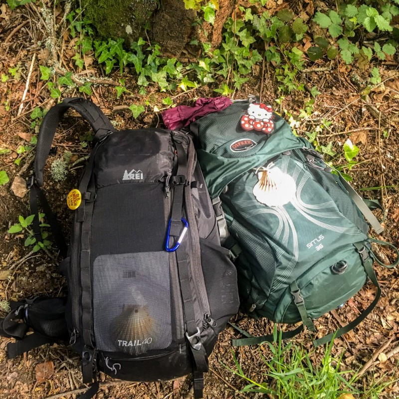Our Backpacks for the Camino de Santiago