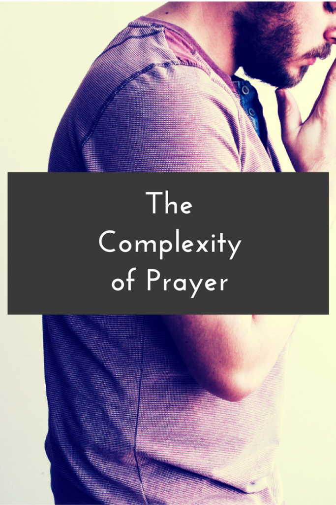 """Blog Post   Prayer. It's beautiful and simple. It's vastly complex. How? Let's look at some variables taken from Greg Boyd's book """"Is God to Blame?"""""""