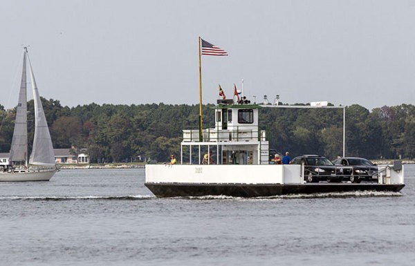 The Most Pointless Ferry In Maryland Pacific Standard