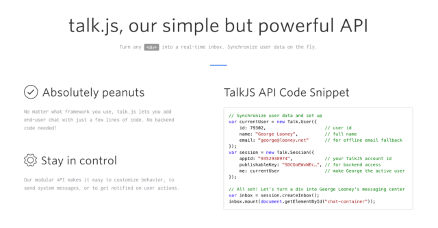 TalkJS Blog - Chat API and Javascript SDK for websites and (mobile