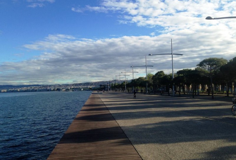 Thessaloniki's new seafront: A jewel for the nymph of the Thermaic